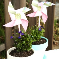 Flower-pot-pinwheel-diy