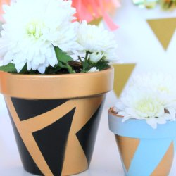 Painted-planters-diy
