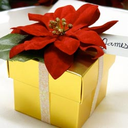 Poinsettia-gift-box