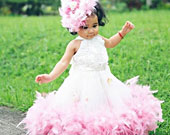 Feathered-fluffy-rosette-girls-dress-170