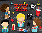 Movie-night-clipart-170