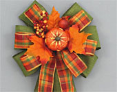 Moss-green-fall-plaid-pumpkin-berries-wreath-bow-170