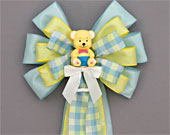 Yellow-bear-plaid-baby-shower-bow-170