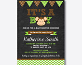 Baby-monkey-chalkboard-baby-shower-invitation-170