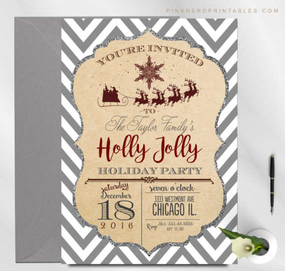 Holly-jolly-holiday-party-invitation-570