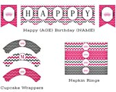 Pink-gray-chevron-princess-party-collection-170
