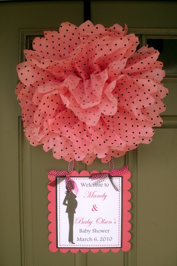 10 ideas fiesta de beb baby shower papelisimo for Baby shower front door decoration ideas