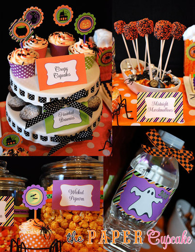 Festive kids Halloween party / Halloween / Party Photo: