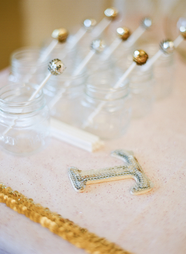 Metallics, Sequins, and Cake! / Birthday / Party Photo: