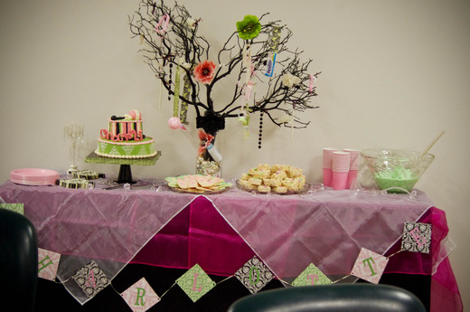 damask chic baby shower party ideas photo 10 of 22 catch my party