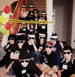 Secret Agent Spy Party - secret agent 007 style