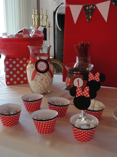 Minnie Mouse / Birthday / Party Photo: