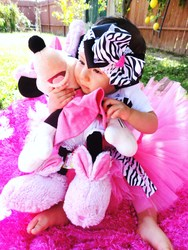 Minnie Mouse Diva Party - Pink/Zebra Theme