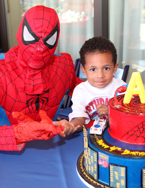 Spiderman / Birthday / Party Photo: