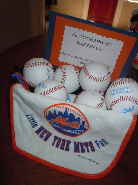 mets baseball baby shower featured photo message for the baby