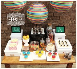 Super Hero Dessert Table - Superhero