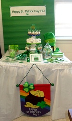 Ms. Rebecca Sweet Treats For CO-Workers - St. Patrick Day