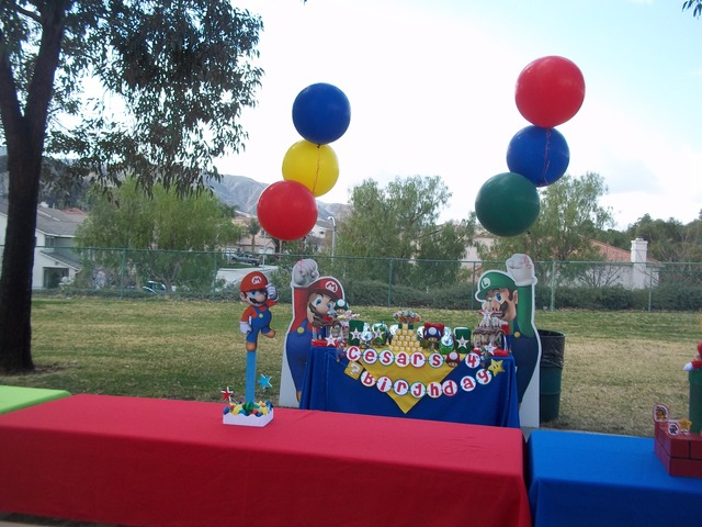 Super Mario Bros / Birthday / Party Photo: