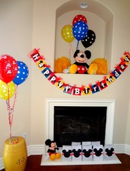 Mickey Mouse 1st Birthday - Mickey Mouse