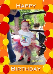 McKenna is 1! - Sesame Street