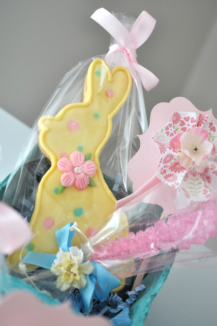 Vintage Shabby Chic Springtime Woodland / Birthday / Party Photo: