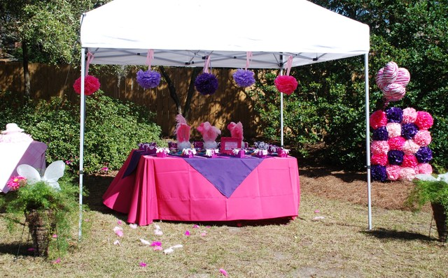 A Fancy Nancy Inspired Soiree / Birthday / Party Photo: