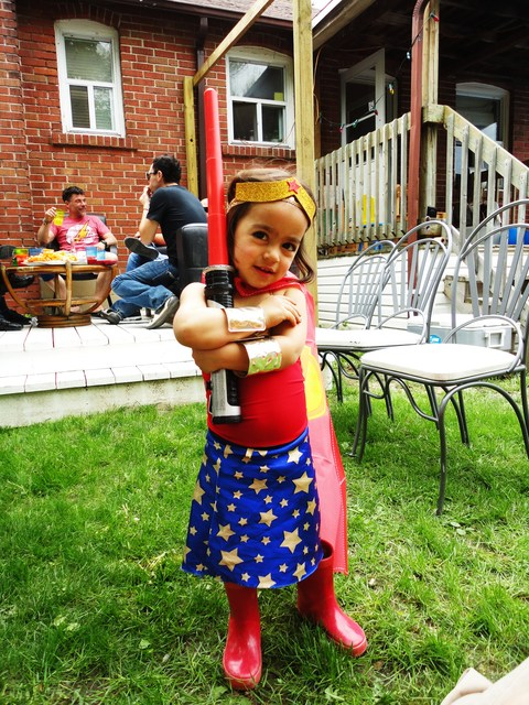 Superhero / Birthday / Party Photo: