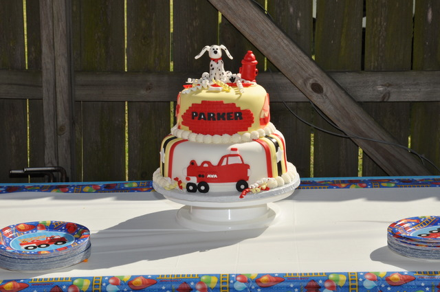 Firetruck, Fire Engine / Birthday / Party Photo: