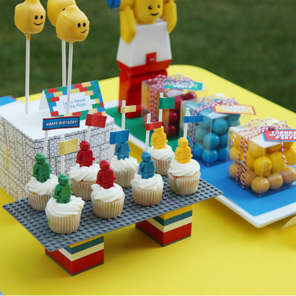 Lego Inspired Party / Birthday / Party Photo: