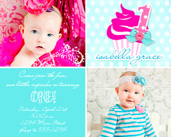 Cupcakes & Polkadots - First Birthday