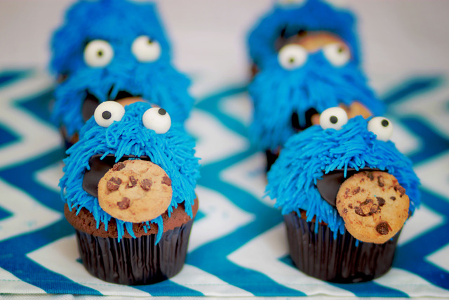 Cookies and Milk Party Featuring Cookie Monster! / Birthday / Featured Photo: