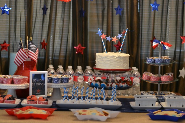 4th of July Party / Birthday / Party Photo:
