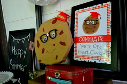 One Smart Cookie - End of school/back to school/cookies & milk
