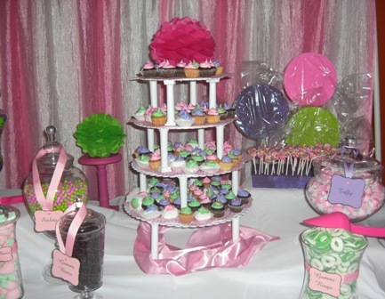 Candy tables / Birthday / Party Photo:
