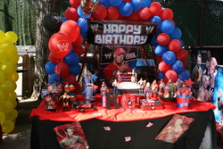WWE wrestling party! - wwe party