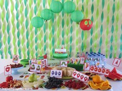 Noah's 1st Birthday - The Very Hungry Caterpillar, by Eric Carle