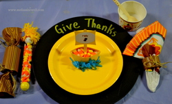 Kids Table/Thanksgiving - Mayflower