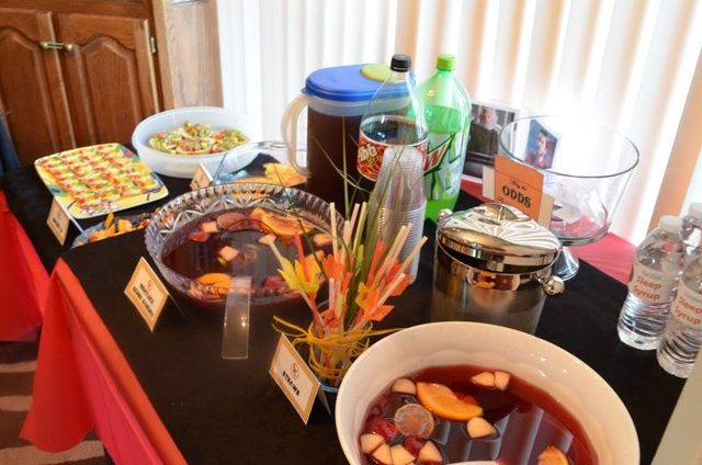 Hunger Games Books/Movies / Movie Night / Party Photo: