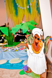 Savannah's Frog Princess Party - PRINCESS AND THE FROG