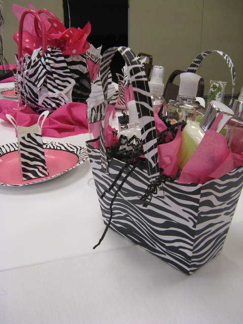 Zebra and hot pink baby shower party ideas photo 3 of 20 for Animal print decoration party