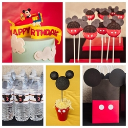 Sebastian's Mickey Mouse 2nd Birthday Party - Mickey Mouse
