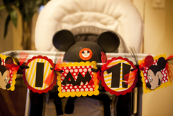 Jax's First Birthday - Mickey Mouse