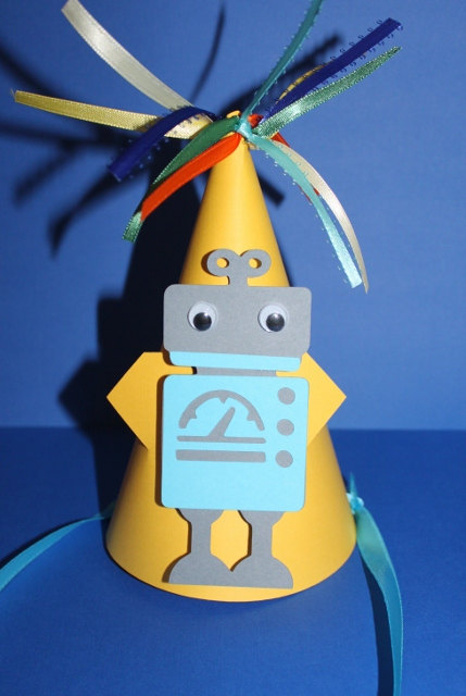 Robot party / Birthday / Dress / Outfit: