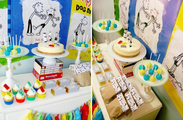 Diary of a Wimpy Kid / Birthday / Dessert Table: