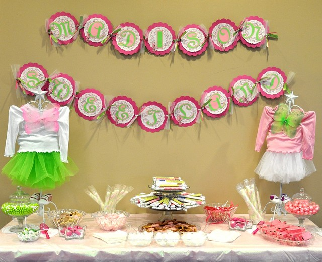 Fantasy Tinkerbell / Baby Shower/Sip & See / Featured Photo: