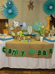 Safari Baby Shower - Safari/jungle