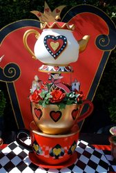Wonderland Valentine's Day tea party - None