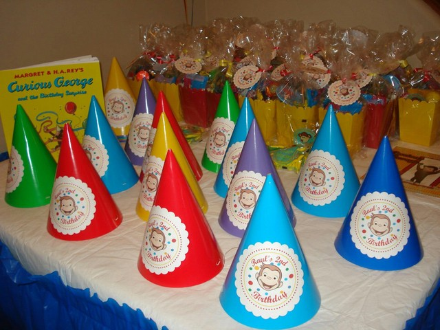 Curious George  / Birthday / Party Photo: