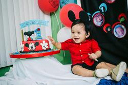It's Damian John's 1st Birthday Party - Mickey Mouse