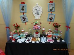 Makayla`s 16th Birthday party  - Alice in Wonderland